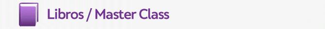 Libros / Master Class